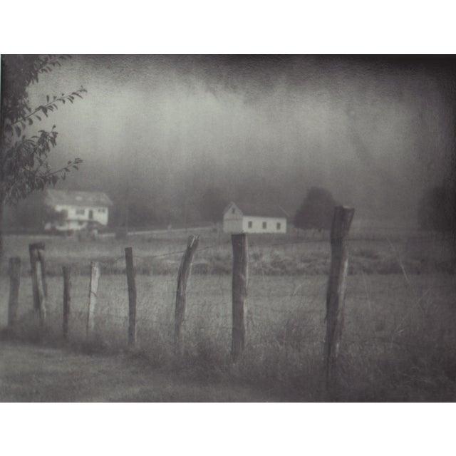 "John Nanian ""Fence and Houses"" Framed Photo Print - Image 3 of 3"