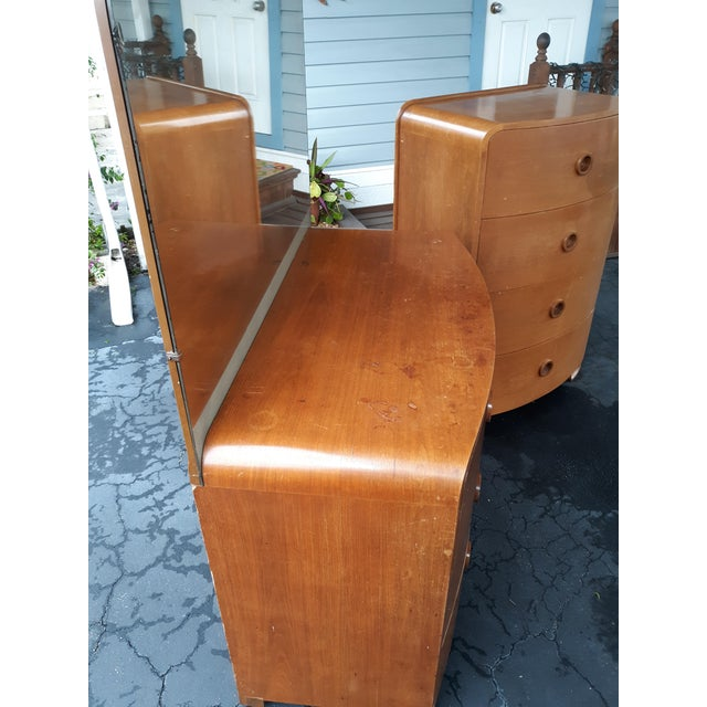 Wood 1930s Art Deco Count Alexis De Sakhnoffsky Chests of Drawers - Set of 2 For Sale - Image 7 of 11