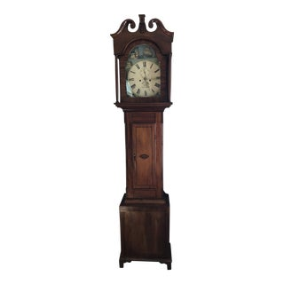 19th Century Rocking Ship Grandfather Clock For Sale