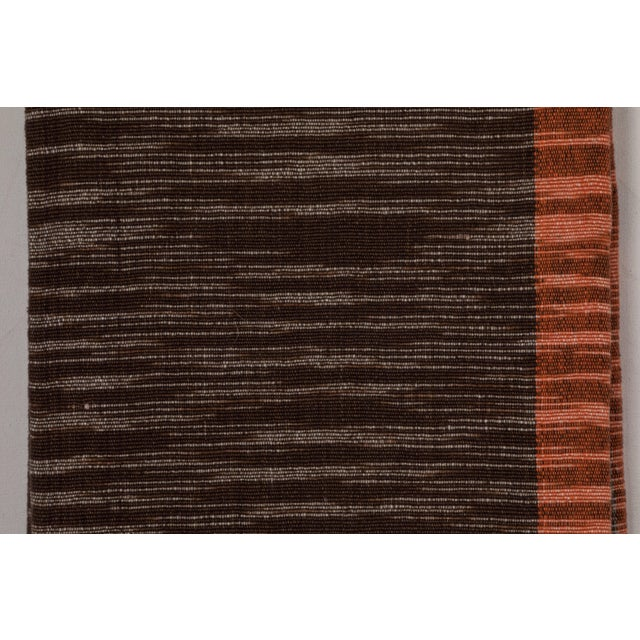 Indian Handwoven Throw For Sale - Image 4 of 5