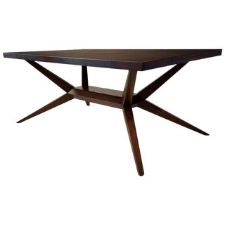 Faceted Romweber Dining Table by Harold Schwartz For Sale