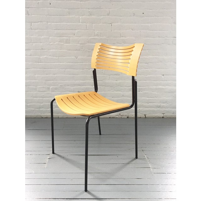 Fritz Hansen Plywood/Metal Chair by Knoll - Image 2 of 7