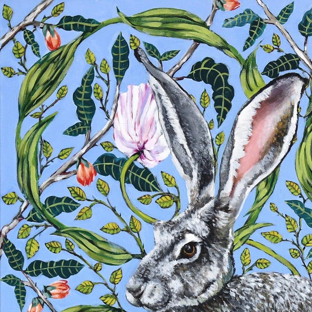 Naomi Jones's richly patterned realistic paintings focus on the preservation of vulnerable wildlife. Jones finds catharsis...