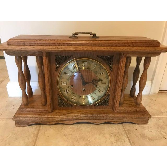 Franz H. Vintage Mantel Clock For Sale - Image 11 of 11