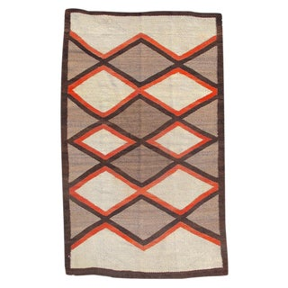 Navajo Rug - 2′11″ × 4′10″ For Sale