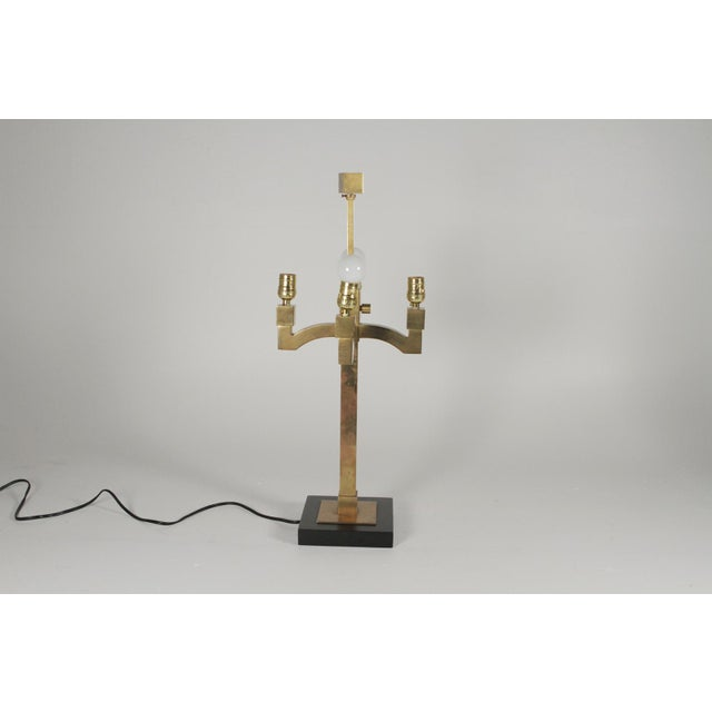 Mid-Century Modern Mid-Century Modern Brass Table Lamps - a Pair For Sale - Image 3 of 11
