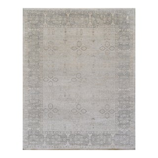 """Mansour Genuine Handwoven Agra Rug - 8' X 10'1"""" For Sale"""