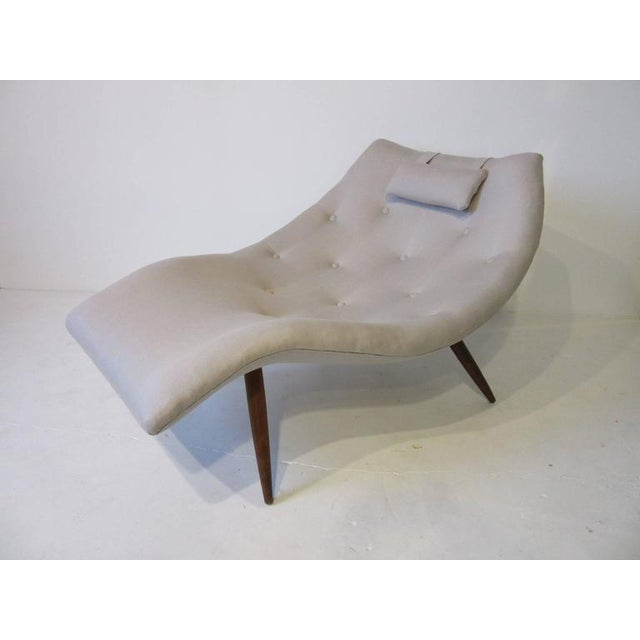 Rare Adrian Pearsall Chaise Lounge Chair For Sale - Image 10 of 10