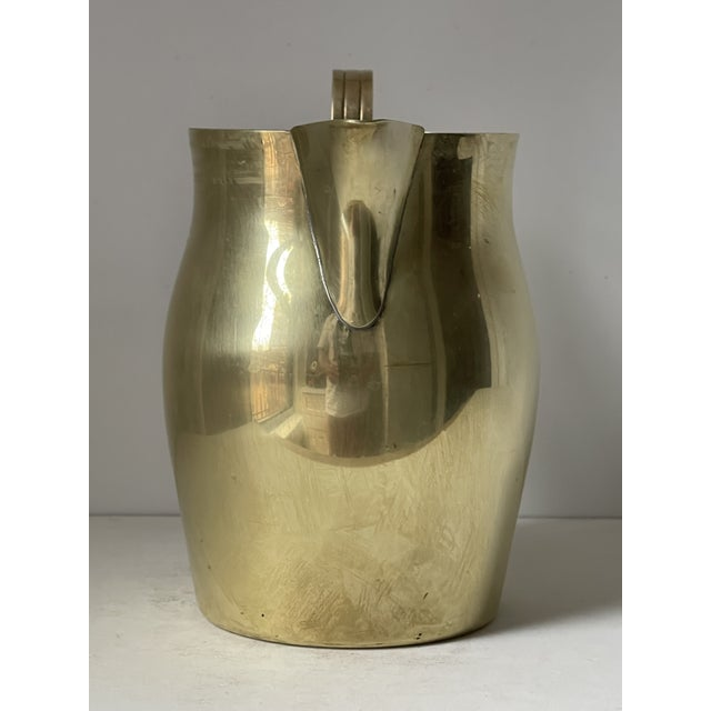 Mid-Century Modern Dorlyn Brass Pitcher by Parzinger For Sale - Image 3 of 9