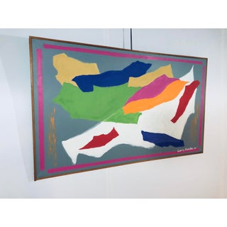 Larry Kessler Composition V Abstract Oil on Canvas Painting, 2007 Preview
