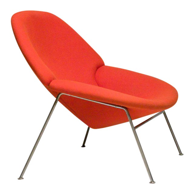 Pierre Paulin F555 Lounge Chair For Sale