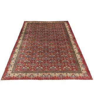Vintage Turkish Kayseri Carpet | 9'3 X 12'10 For Sale