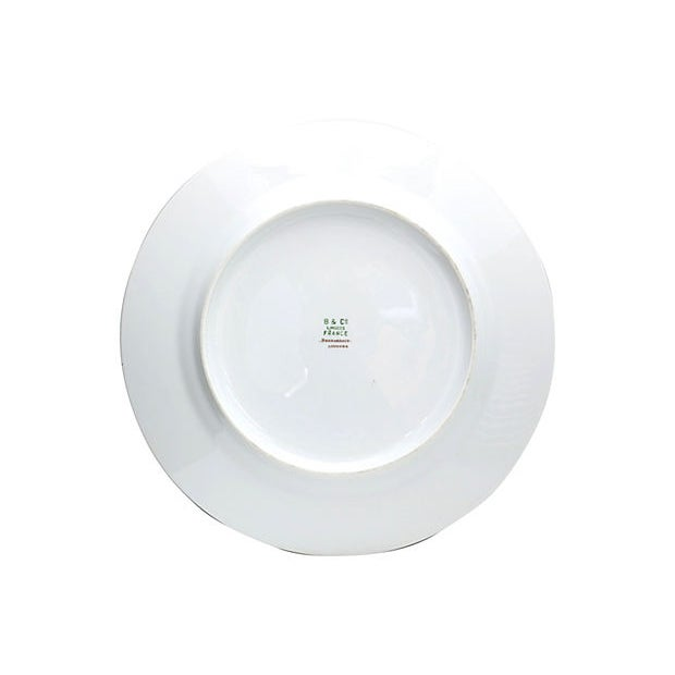 French Restaurant Plates - Set of 12 For Sale - Image 4 of 5
