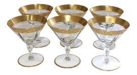 Image of Tan Champagne Coupes