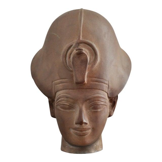 Egyptian Terracotta Bust For Sale