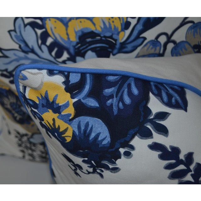 Contemporary Anna French Fairbanks Fabric Pillows - a Pair For Sale - Image 3 of 5