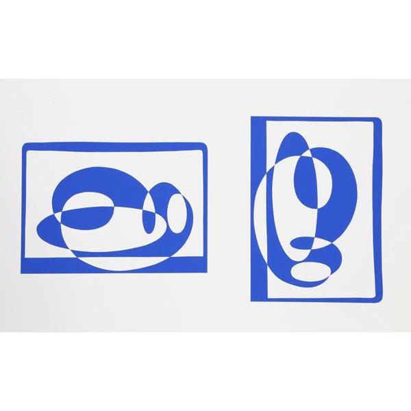 "Josef Albers ""Portfolio 2, Folder 2, Image 2"" Print - Image 2 of 3"