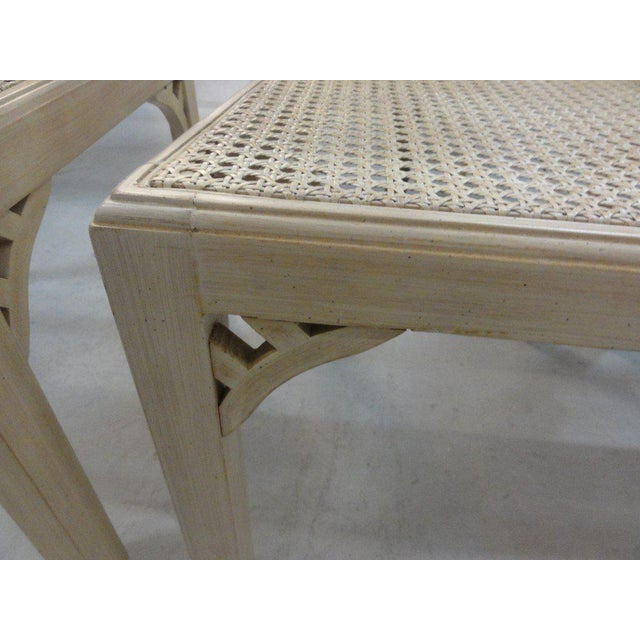 Palm Beach Regency Fretwork Chairs - Set of 6 - Image 8 of 11