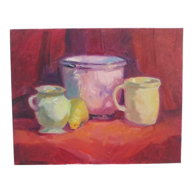 1990s Contemporary Still Life Painting For Sale