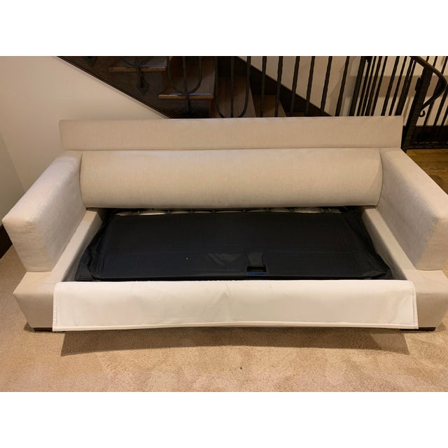 Contemporary A. Rudin Sleeper Sofa For Sale - Image 10 of 13