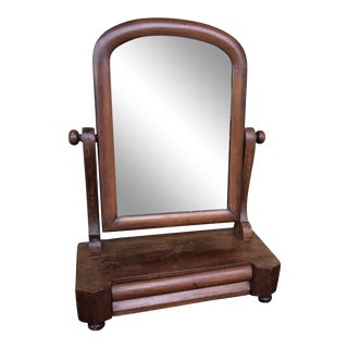 Vintage Mens Shaving Vanity Mirror For Sale