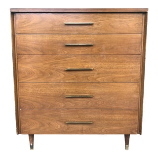 1960s Mid Century Highboy Dresser by John Stuart For Sale