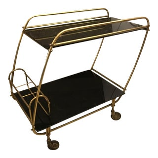Vintage Bar Cart For Sale