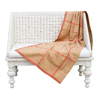 Aiesh Bengal Kantha Throw For Sale
