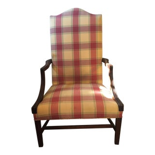 Early 19th Century Vintage Hepplewhite Lolling Chair For Sale