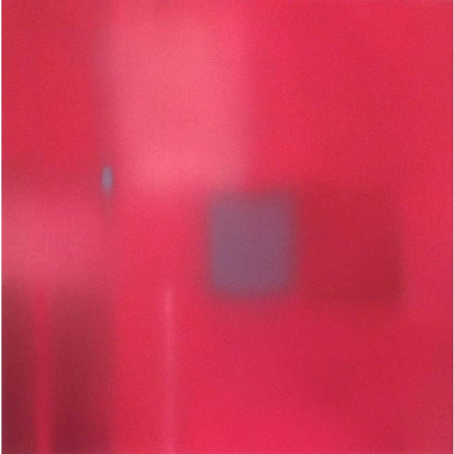 "Julian Jackson ""States of Red 6"" Oil on paper."