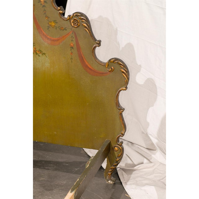 Green 19th Century Venetian Style Twin Beds - a Pair For Sale - Image 8 of 13