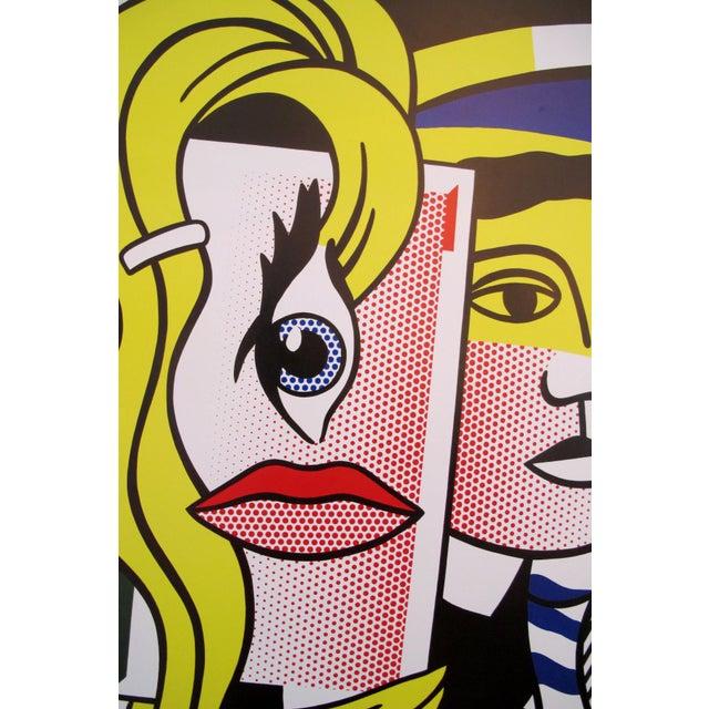 1986 Original Roy Lichtenstein Poster, Department of 21st Century Art, Metropolitan Museum For Sale - Image 4 of 5