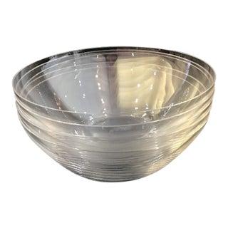 Lalique Crystal Dessert Bowls - Set of Five For Sale