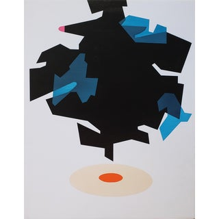 """Ernest Regua """"Beacon"""" Abstract Painting For Sale"""