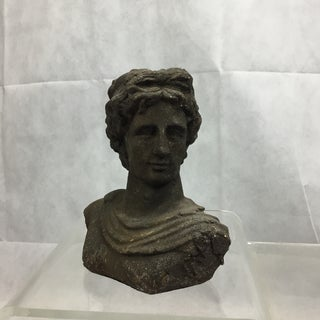 1930s Vintage Neoclassical Terra-Cotta Grecian Bust Preview