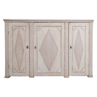 19th Century Swedish Gustavian Painted Enfilade For Sale