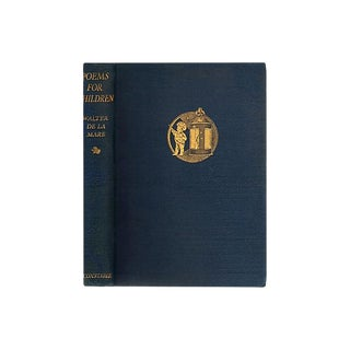 """1930 """"First Edition, Poems for Children"""" Collectible Book For Sale"""