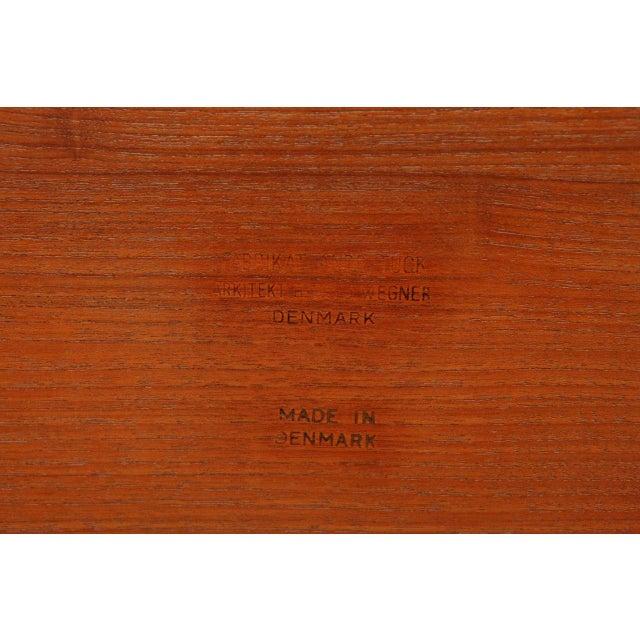 Hans Wegner Drop Leaf Side Table - Image 9 of 9