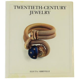 20th Century Jewelry Art Nouveau to Modern Coffee Table or Library Book For Sale