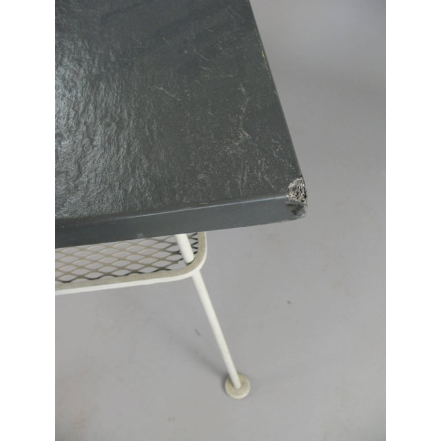 Vintage 1950s Sculptura Wrought Iron Table by Russell Woodard For Sale In New York - Image 6 of 8