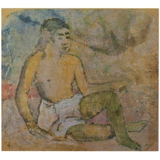 1959 Lithograph of Gauguin Tahitian Woman For Sale