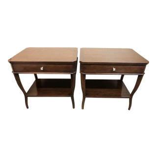 Hickory Chair Company West Pace Side Table/Nightstand - a Pair