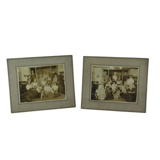 Early 20th Century Antique Theater Photographs - A Pair For Sale