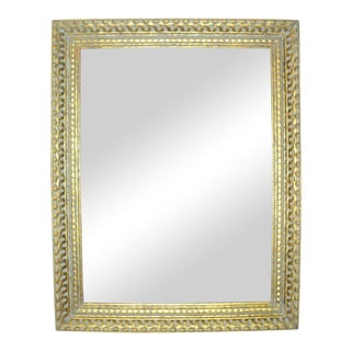 Antique Gold Gilded Wooden Picture Frame For Sale
