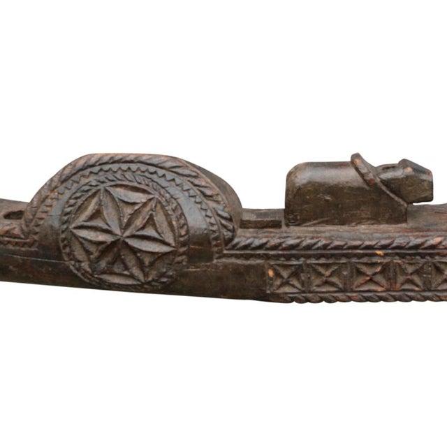 Tribal Carved Yoke - Image 5 of 5