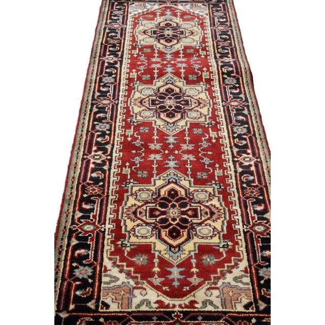 "Antique Persian Serapi Runner - 2'6"" X 8'1"" - Image 2 of 4"