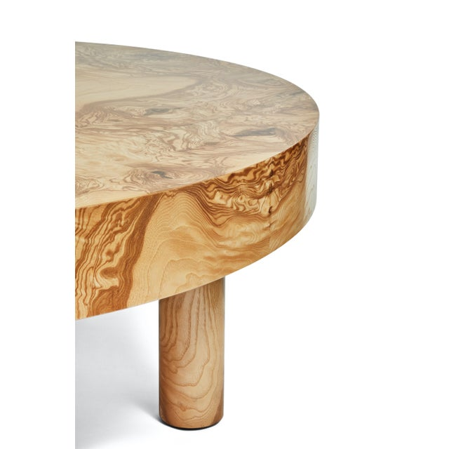 Contemporary Carlton Coffee Table by August Abode For Sale - Image 3 of 9