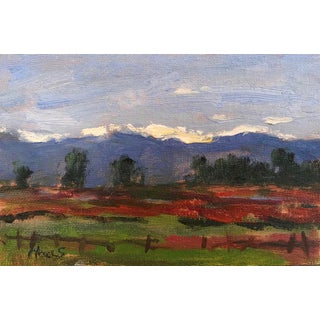 """""""Taos Sunset"""" Original Oil Painting For Sale"""