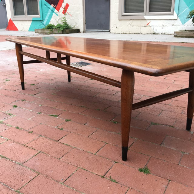 Mid-Century Lane Acclaim Dovetail Coffee Table - Image 4 of 7