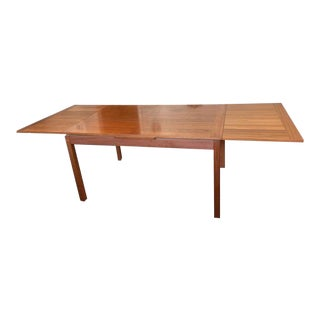 1950s Scandinavian Dansk Teak Dining Table For Sale